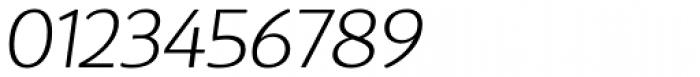 D Sari ExtraLight Italic Font OTHER CHARS