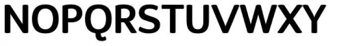 D Sari SemiBold Font UPPERCASE