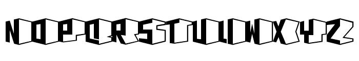 D3 Concretism typeB Font LOWERCASE