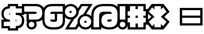 D3 Cosmism Font OTHER CHARS