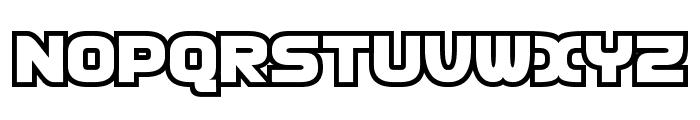 D3 Cosmism Font UPPERCASE