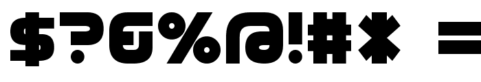 D3 Cozmism Font OTHER CHARS