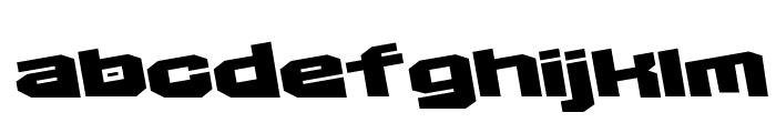 D3 Egoistism extra Font LOWERCASE