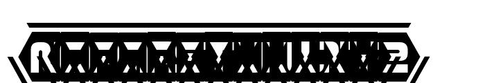 D3 Honeycombism Sorround Font LOWERCASE