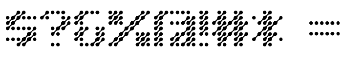 D3 Isotopism Font OTHER CHARS