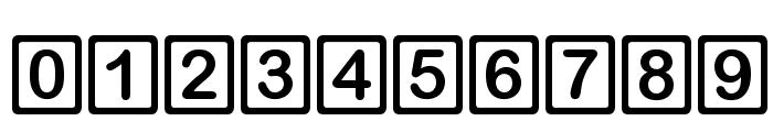 D3 RoundSquarism Font OTHER CHARS