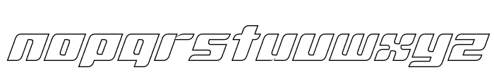 D3 Surfism_IO Font LOWERCASE