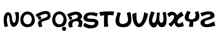 D3 Toyism Alphabet Font UPPERCASE
