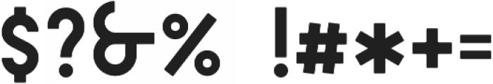 DAKAR Regular otf (400) Font OTHER CHARS