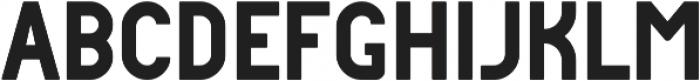 DAKAR Regular ttf (400) Font LOWERCASE