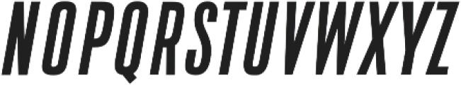 DaBronx Sans Medium Italic otf (500) Font UPPERCASE