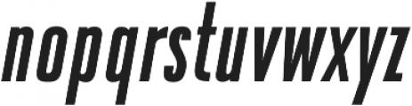 DaBronx Sans Medium Italic otf (500) Font LOWERCASE