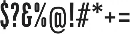 DaBronx Sans Medium otf (500) Font OTHER CHARS