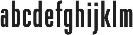 DaBronx Sans Medium otf (500) Font LOWERCASE