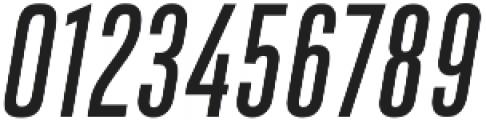 DaBronx Sans Regular Italic otf (400) Font OTHER CHARS