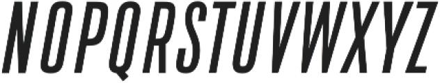 DaBronx Sans Regular Italic otf (400) Font UPPERCASE