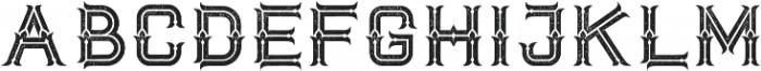 Dacota Typeface Rough ttf (400) Font UPPERCASE