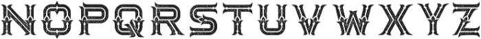 Dacota Typeface Rough ttf (400) Font LOWERCASE
