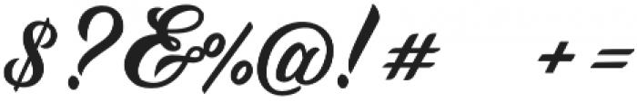 Daelo1 Regular otf (400) Font OTHER CHARS