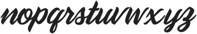 Daelo1 Regular otf (400) Font LOWERCASE