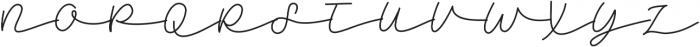 Daffodilias - Kestrel Montes otf (400) Font UPPERCASE