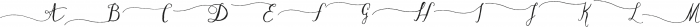 DagoRightSwashes ttf (400) Font UPPERCASE