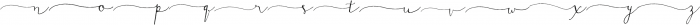 DagoRightSwashes ttf (400) Font LOWERCASE