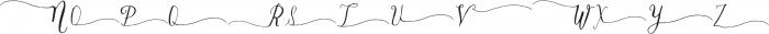 DagoSwashesXtra ttf (400) Font UPPERCASE