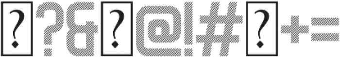 Dagon Diagonal otf (400) Font OTHER CHARS