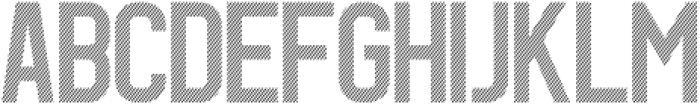 Dagon Diagonal otf (400) Font UPPERCASE