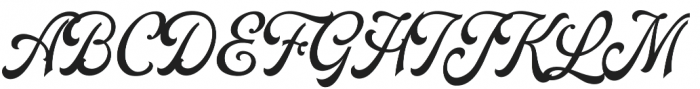 Daily Bay otf (400) Font UPPERCASE