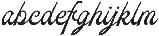 Daily Bay otf (400) Font LOWERCASE