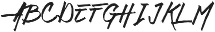 Daily Hustle Regular otf (400) Font UPPERCASE