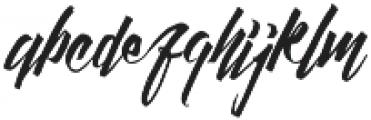 Daily Hustle otf (400) Font LOWERCASE
