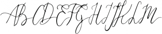 Daisies of Our Lives otf (400) Font UPPERCASE