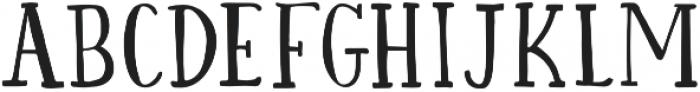 Daisy Dog Serif otf (400) Font UPPERCASE