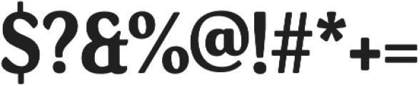 Daito Cond Bold otf (700) Font OTHER CHARS