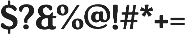 Daito Norm Bold otf (700) Font OTHER CHARS