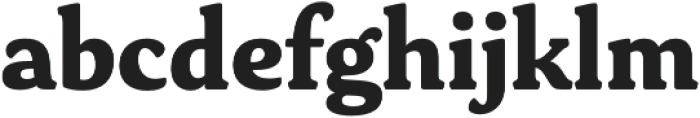 Daito Norm ExBold otf (700) Font LOWERCASE