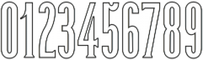 Dalena Outline otf (400) Font OTHER CHARS