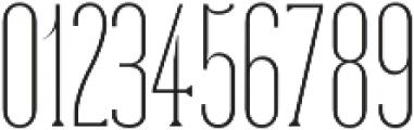 Dalena Thin otf (100) Font OTHER CHARS