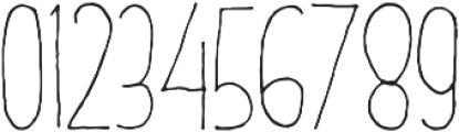 DalityMixthree light ttf (300) Font OTHER CHARS