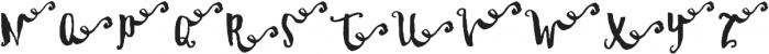 DalityRight ttf (400) Font UPPERCASE