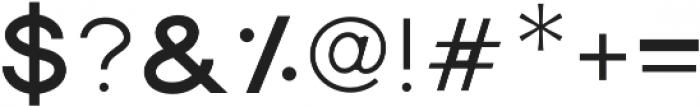 Dallas Light otf (300) Font OTHER CHARS