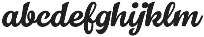Dallas PS Brush otf (400) Font LOWERCASE