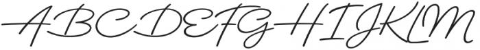 Dallas PS Pen otf (400) Font UPPERCASE