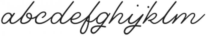 Dallas PS Pen otf (400) Font LOWERCASE