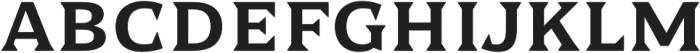 Dallas PS Serif Reg otf (400) Font UPPERCASE