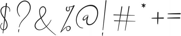Dalmatins otf (400) Font OTHER CHARS