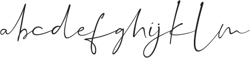 Dalmatins otf (400) Font LOWERCASE